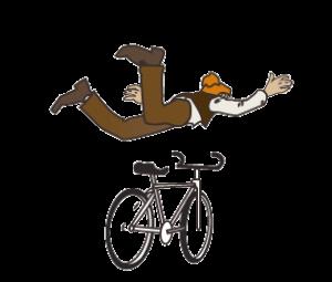 faire voler un vélo